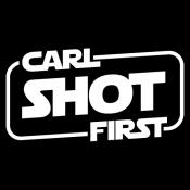 Carl Shot First tee