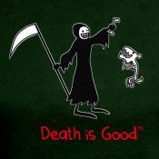 Death & Rip Ladies Black Tee