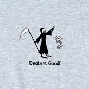 Death & Rip Men's Grey Tee