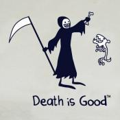 Death & Rip Ladies Silver Tee