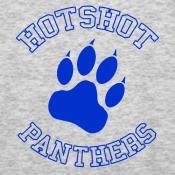 Hotshot Panthers tees and ladies tees